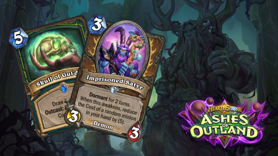 Hearthstone: Dormant & Outcast, two new Ashes of Outland keywords -  Millenium