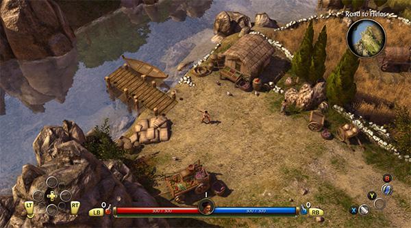 Game hay Titan Quest được phát triển bởi Iron Lore Entertainment