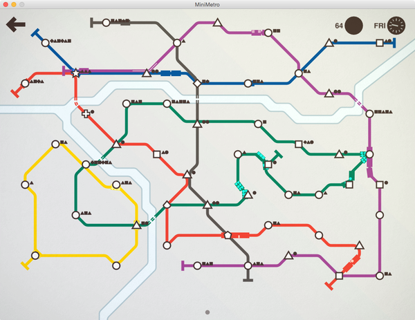 Mini Metro Review – Transportist by David Levinson