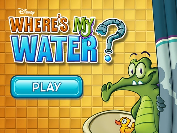 Play Where's My Water? | Disney LOL Games