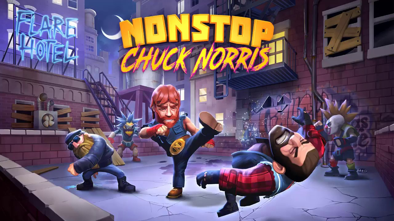 Nonstop Chuck Norris - (iOS/Android) GamePlay - YouTube