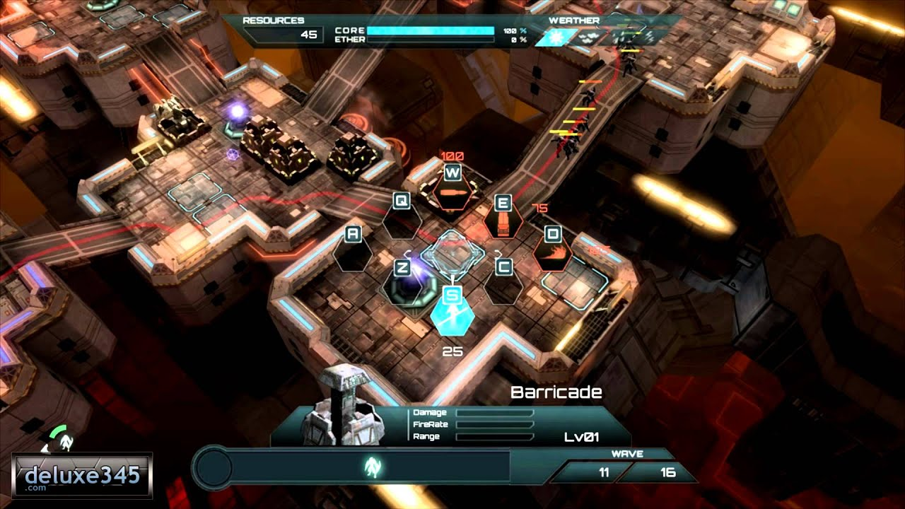Defense Technica Gameplay (PC HD) - YouTube