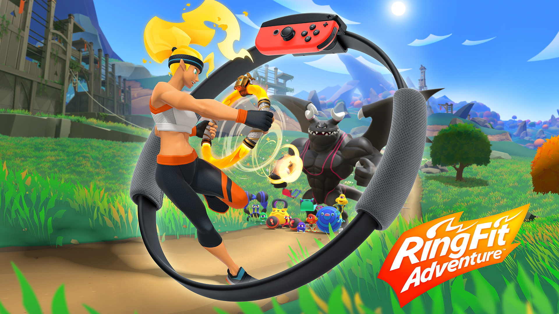 Ring Fit Adventure for Nintendo Switch - Nintendo Game Details