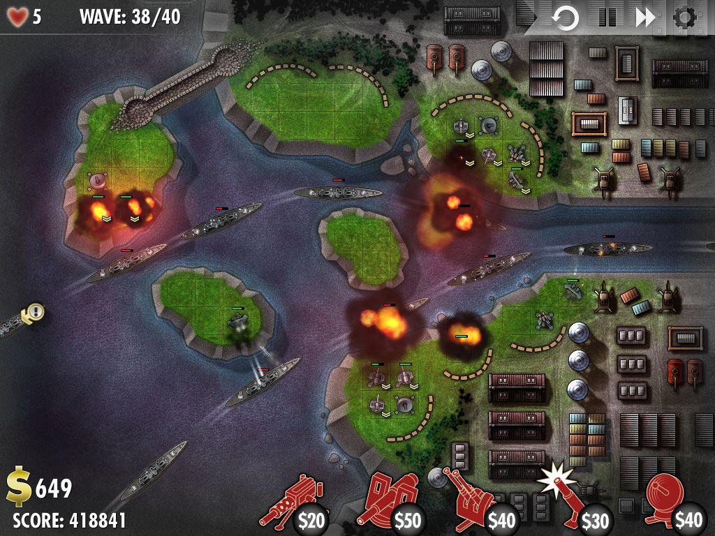 iBomber Defense trên Steam
