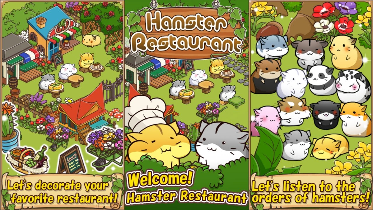 Hamster Restaurant Android Gameplay - YouTube
