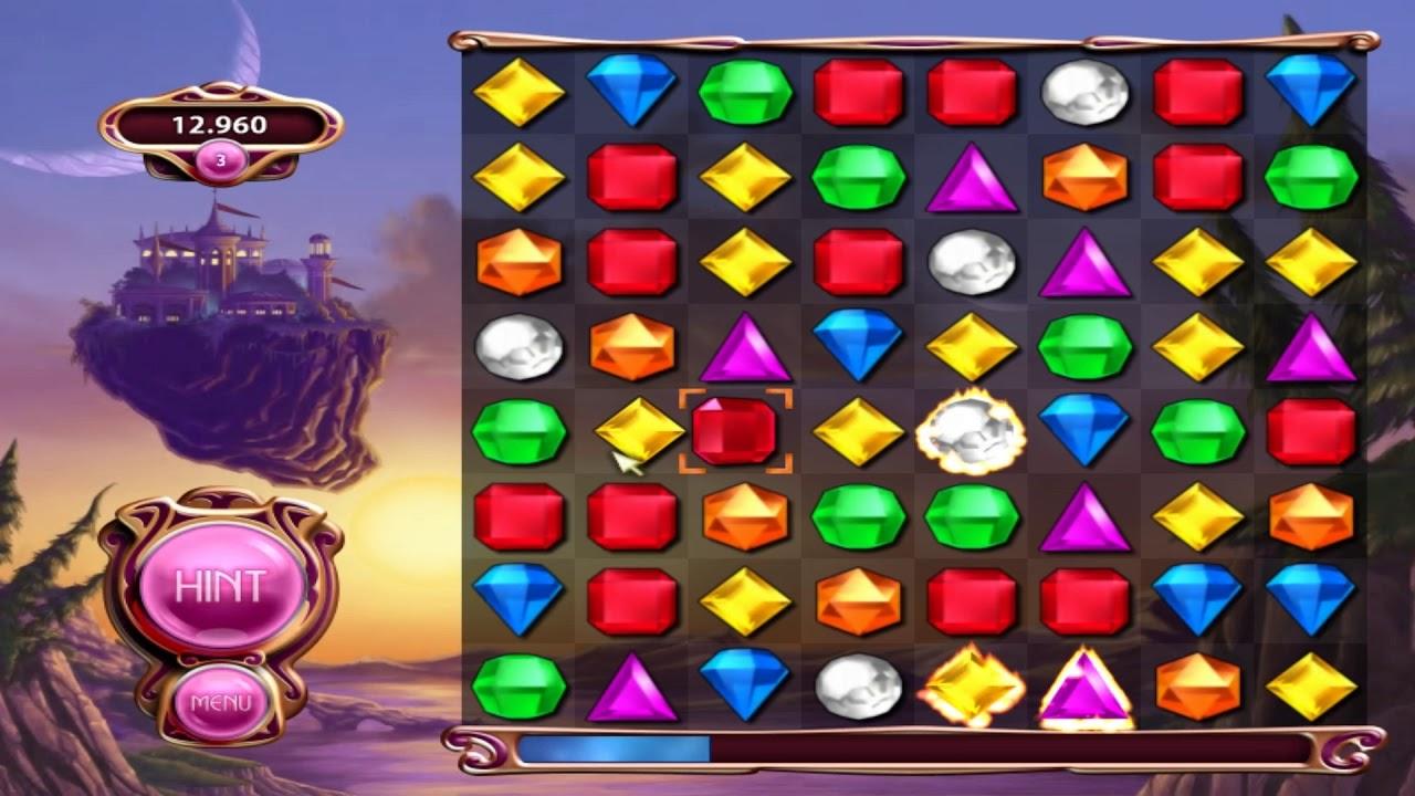 Popcap Game Bejeweled 3 - Trò chơi kim cương 3 - YouTube