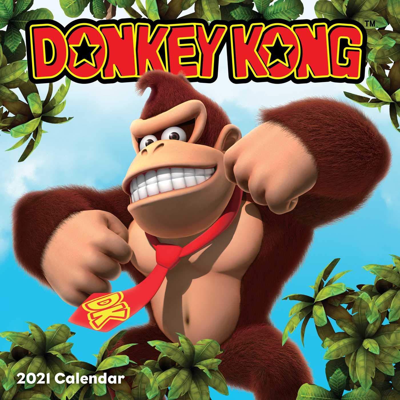 Donkey Kong 2021 Wall Calendar: Nintendo: 9781419744518: Amazon.com: Books