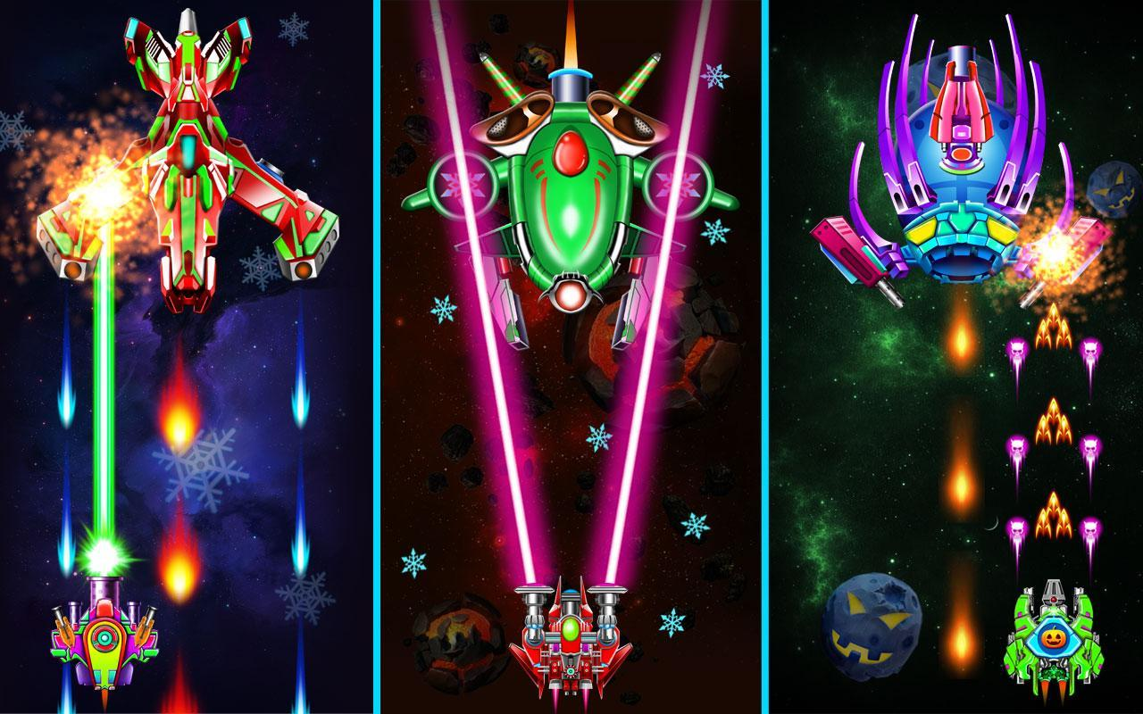 Galaxy Attack: Alien Shooter (Premium) for Android - APK Download